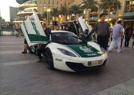 لوکس ترین خودروهای دنیا برای پلیس دبی + تصاویر