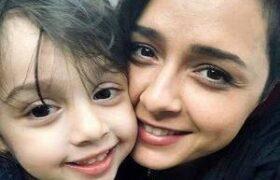 تصاویری زیبا بازیگران زن و دخترانشان